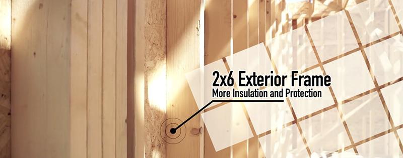 2x6 construction standard in living dunes of myrtle beach