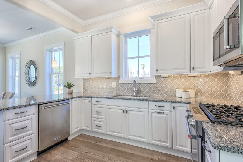 Kitchen design with eco-friendly cabinetry in myrtle beach