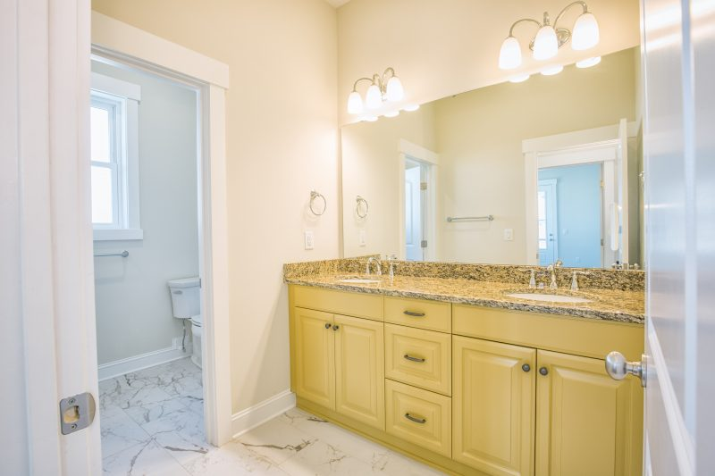 Eco-friendly cabinetry at Living Dunes by Elmwood