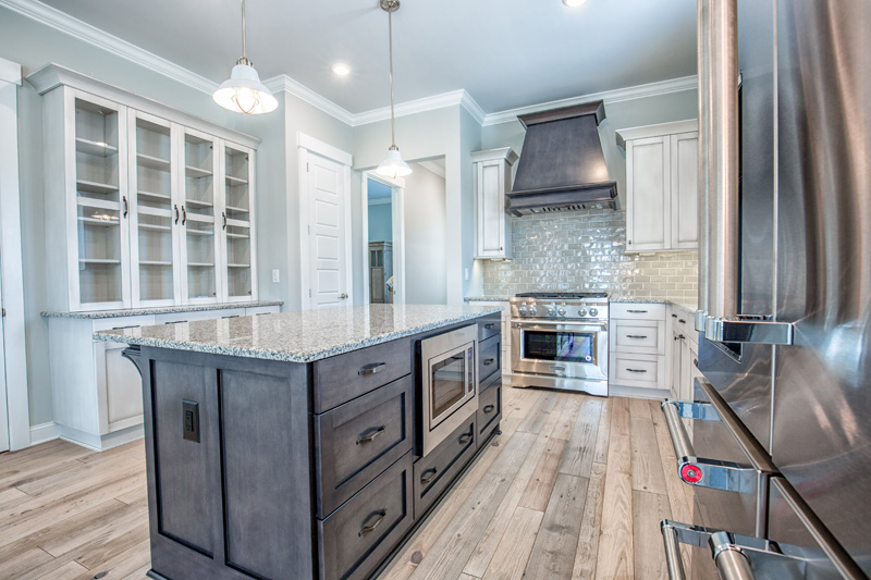 Eco-friendly cabinetry at living dunes