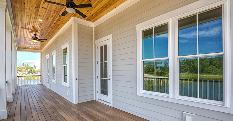 viwinco windows are a standard on living dunes homes