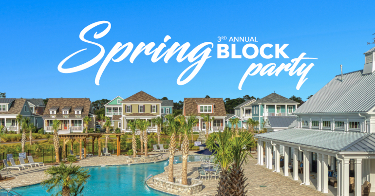 3rd Annual Spring Block Party At Living Dunes